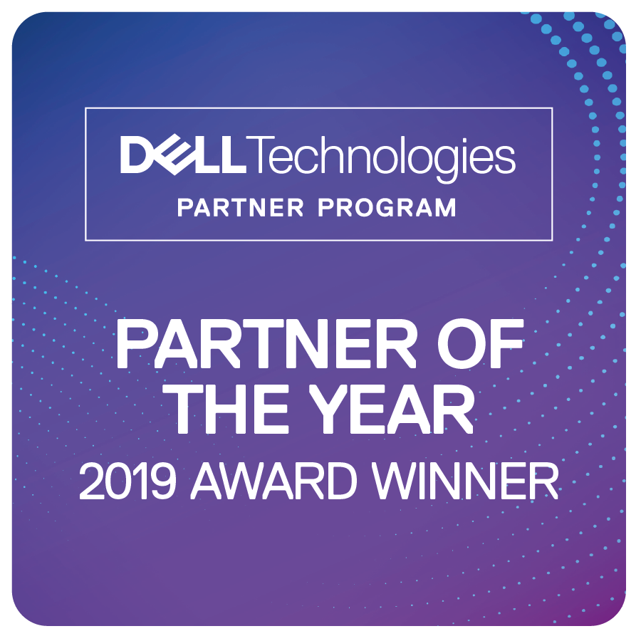 Dell Technologies Partner of the Year Badge